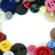 Frame of buttons — Stock Photo
