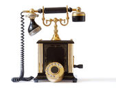 Old fashioned telephone — Stock Photo