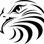 Eagle 9 — Stock Vector