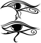 Egyptian Eye Raa — Stock Vector