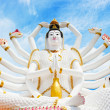 Statue of Shiva in Thailand, island Koh Samui — Stock Photo