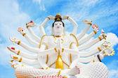 Statue of Shiva in Thailand, island Koh Samui — Stock Photo
