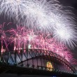 Sydney Harbour Bridge New Year — Foto de Stock