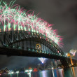 Stock Photo: Sydney Harbour Bridge New Year