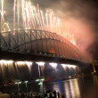Sydney Harbour Bridge New Year — Stock Photo #7726673