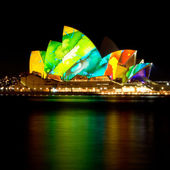 Vivid Sydney Opera House — Stock Photo