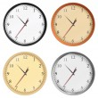 Vector clocks — Stock Vector
