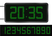Digital Clock — Vettoriale Stock