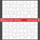 Vector rompecabezas — Vector de stock