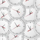 Sfondo orologio senza soluzione di continuità — Vettoriale Stock