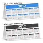 2012 Calendars — Stock Vector #7804120