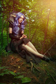 Elf girl — Stock Photo