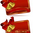 Christmas Bells Web Banner — Stockvektor #7525782