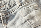 Pocket jeans — Stock Photo