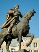 Escultura del caballo del jinete — Foto de Stock