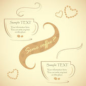 Special offer for real connoisseurs coffee, vector illustration — Stock vektor