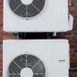 Stock Photo: Air Conditioning Units