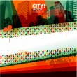 Abstract city design background — Imagen vectorial