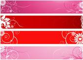 Valentine's day items — Stock Vector