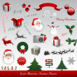 Christmas design elements — Stock Vector