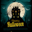 Halloween background — Stock Vector #7409113