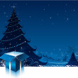 Royalty-Free Stock Imagen vectorial: Christmas card background