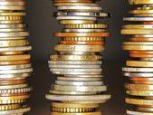 Monedas del mundo — Stock Photo