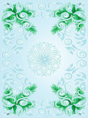 Vector Christmas abstract background — Stock Vector