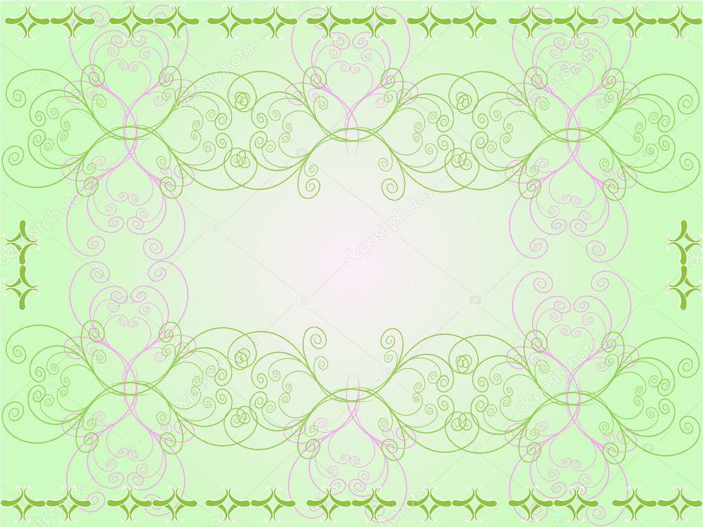 抽象花矢量图
