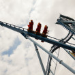 rollercoaster loops. — Stock Photo