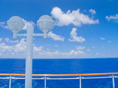 Cruise ship in the Caribbean Sea. — Stock Photo