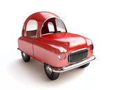 Red Cartoon Car — Stock Photo