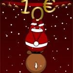 Merry Christmas - 10 - gift certificate — Stock Photo