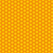 Sans soudure en nid d'abeille. illustration vectorielle — Vecteur