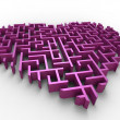 Heart of maze — Stock Photo