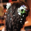 Beauty wedding hairstyle - Stock Photo