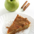 Apple pie with apple — Stock Photo