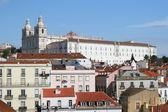 View on city Lisbon — Stock Photo