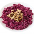 Beet salad with walnut — Stok fotoğraf