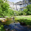 Beautiful landscape in Yorkshire Dales National Park in England — Stock Photo