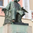 Great russiartist IvAyvazovski, statue in in Feodosia, Cr — Photo #6945695