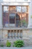 Old balcony, Kerch, Crimea, Ukraine — Stock Photo