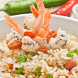 Canton chinese rice — Stock Photo