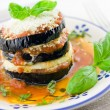 Eggplants parmigiana — Stock Photo #7182924