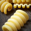 Italian raw pasta — Stock Photo