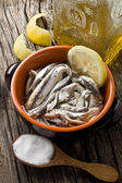 Anchovies — Stock Photo
