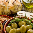 Stock Photo: Giants Spanish olives