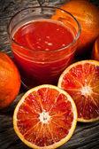 Orange tarot — Stock Photo