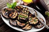 Grilled eggplants — Stock Photo