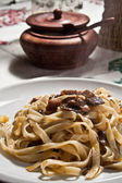 Pasta with mushroom — Stock Photo
